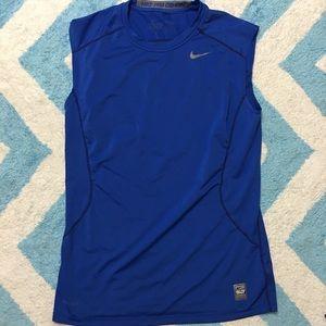 NIKE Men's Pro Combat Sleeveless Athletic Shirt